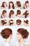 Как сделать причёску на длинные волосы на бок