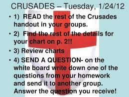Ppt Chapter 14 3 The Crusades Powerpoint Presentation