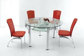 Expandable Glass Dining Room Tables Interior Custom Inspiration