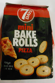 Buy 7 Days Bake Rolls From Greece With Pizza Flavor 104gr 366 Oz In