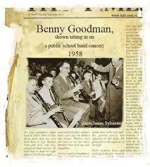 Benny goodman biography essay
