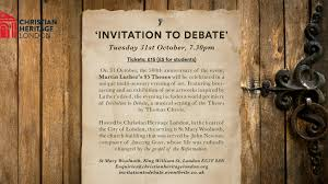 invitation to debate martin luther s theses by thomas chevis  a multi sensory artistic event celebrating the 500th anniversary of martin luther nailing his 95