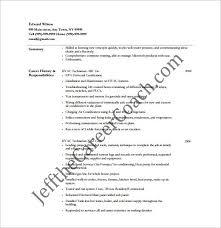 Hvac Resume Adorable Hvac Resumes Examples Hvac Technician Resume Sample Resumes Sample