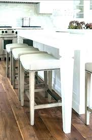 duff backless leather counter stools bar ivory stool design no back w