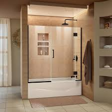 dreamline unidoor x 58 5 in w x bathtub door