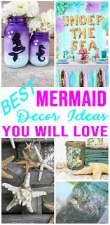 best mermaid party decorations easy diy mermaid party decor ideas under the sea theme