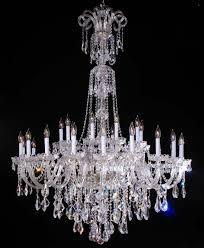 Us 18990 30 Stücke Moderne Glas Kronleuchter Für Wohnzimmer Weiße Kerze Kirche Hotel Kristall Anhänger Kronleuchter Italien Großen Haus Led Avize