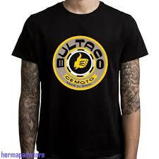 New Bultaco Spain Motorcycle Logo Mens Black T Shirt Size S To 3xl Ebay