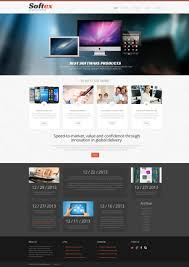 Software Company Responsive Wordpress Theme 48635