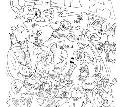 Zoo Animal Coloring Pages Scbu Preschool Coloring Pages Zoo Animals