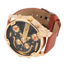 online get cheap mens used watches aliexpress com alibaba group jubaoli watch pu leather strap men wristwatch stainless steel round gold date 1068 men watches top