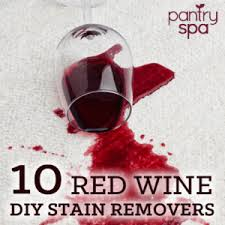 Luckily, there are some great, all natural, do-it-yourself ways to get red wine  out of a number of different fabrics.