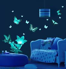 glow in the dark paint for wallsLuminous Murals Adding Mystery and Originality to Modern Interior