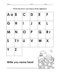 Lowercase Alphabet Worksheets | Printable Shelter