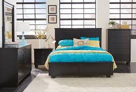 diego bedroom set. diego in black bedroom set m