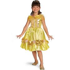 beauty and the beast costume bell child performance costume classic glitter presents disney princess