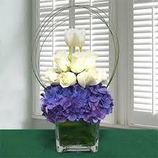 Office flower arrangements Reception Flower Extra Exotic Beauty Flower Arrangements For Office Artificial Silk Flower Bouquet
