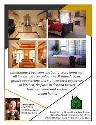Real Estate Open House Flyer Kays Makehauk Co