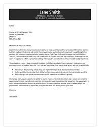 Assistant Preschool Teacher Cover Letter Resume Templates