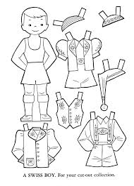 Small Picture 61 best paper dolls images on Pinterest Adult coloring Coloring