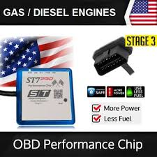 Fits 2010 Toyota Sienna Stage 3 ST7 Performance Chip Tuner Power ...