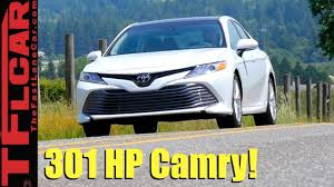 2018 Toyota Camry V6 Review: All-New Inside and Out - YouTube