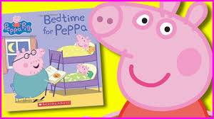 good night peppa with peppa pig kids books read aloud fun family activity with books