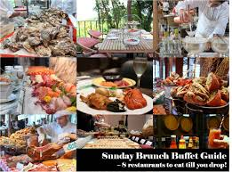 Snippets 8 Sunday Brunch Buffets In Singapore You Should Not Miss Buffet Promotion April 2016 Singapore