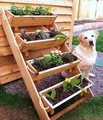 outdoor herb garden planters awesome creative diy outdoor vertical garden planter boxes with 4 boxes