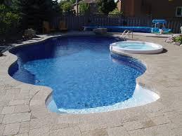 Marvelous Vinyl Liner Inground Pools Design