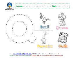 Learn vocabulary, terms and more with flashcards, games and other study tools. Letter Q Color Worksheet The Kids Worksheets