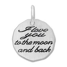 moon and back charm sterling silver tap to expand