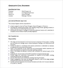 structural engineer job description 10 civil engineer job description templates free sample example