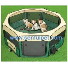 2018 factory direct top ing outdoor folding pet fence kennel playpen fabric dog cat play pen 8 panels from bubupark 117 57 dhgate com