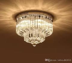 modern k9 crystal chandelier lighting flush mount led ceiling light fixture pendant lamp for dining room bathroom bedroom livingroom llfa chandelier
