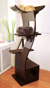 stylish cat furniture. The Lotus Cat Tower, A New Take On Modern Furniture Stylish