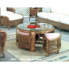 white rattan coffee table furniture wood and metal sofa triangle slate top charlottetown all weathe