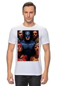 Футболка классическая <b>Лига справедливости</b> / <b>Justice League</b> ...