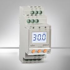 selec creating best value digital earth leakage relay 1Ø 3Ø picture of digital earth leakage relay 1Ø 3Ø backlight
