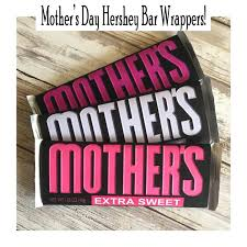 Mothers Day Hershey Bar Wrappers Printables 4 Mom