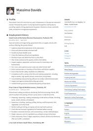Restaurant Cook Resume Cook Resume Writing Guide 12 Resume Templates 2019
