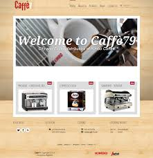 Cheap Web Design Leicester Professional Masculine Advertising Web Design For Caffe 79