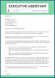 executive assistant cover letters executive assistant cover letter 208