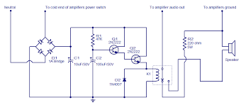 speaker circuit diagram ireleast info speaker protector electronic circuits and diagram electronics wiring circuit