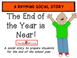 Social Skills Stories The End Of The Year Is Near