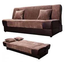 sofa bed with storage. Fabric \u0026 PU Click Clack Sofa Bed, Comfortable With Storage Bed. Bed