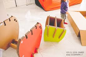 Arredamento ecologico in cartone per bambini by eco&you cose da
