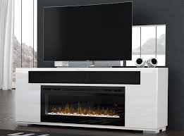 haley electric fireplace media console by dimplex larger image