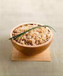 brown rice in a bowl. Beautiful Bowl Less Diabetes With Brown Rice For In A Bowl N