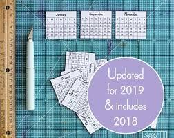 Printable Calendar | Etsy